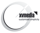 xvmedia.net | corporate logo
